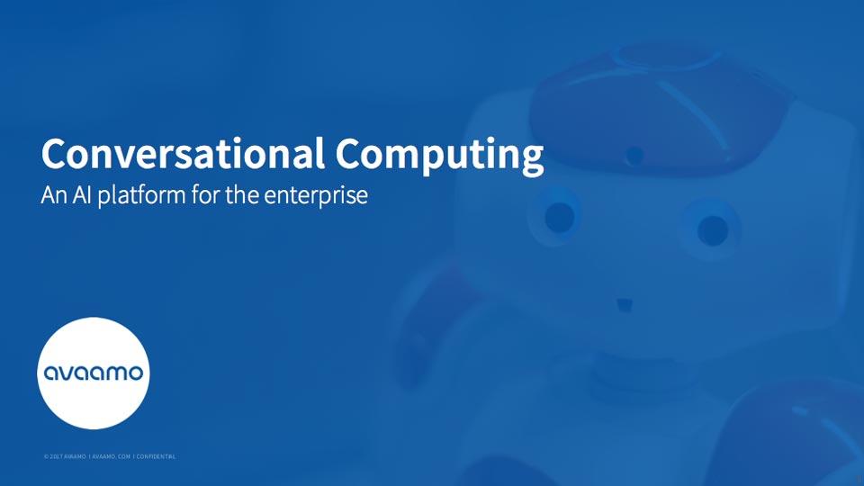Conversational AI chatbots