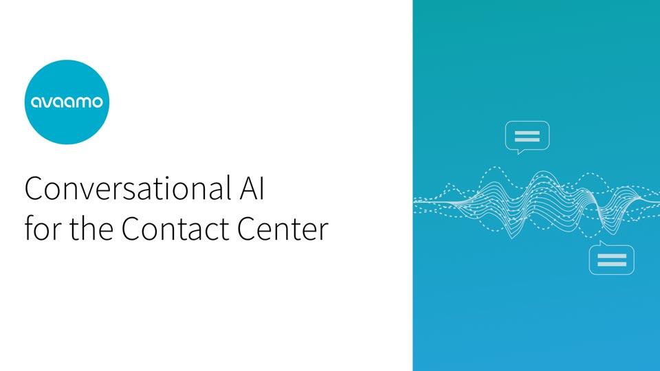 Conversational AI for call centers