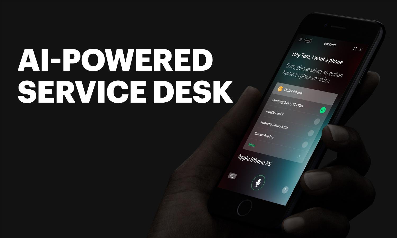 AI-powered digital agent for help desks