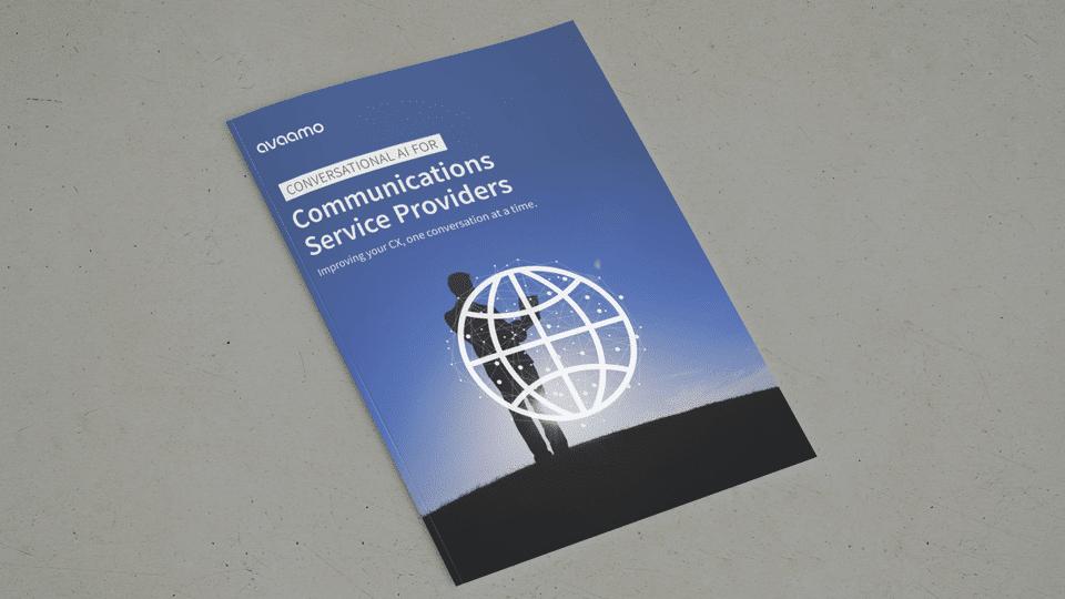 Conversational AI for communications